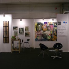 Vue d ensemble du stand ART WAY